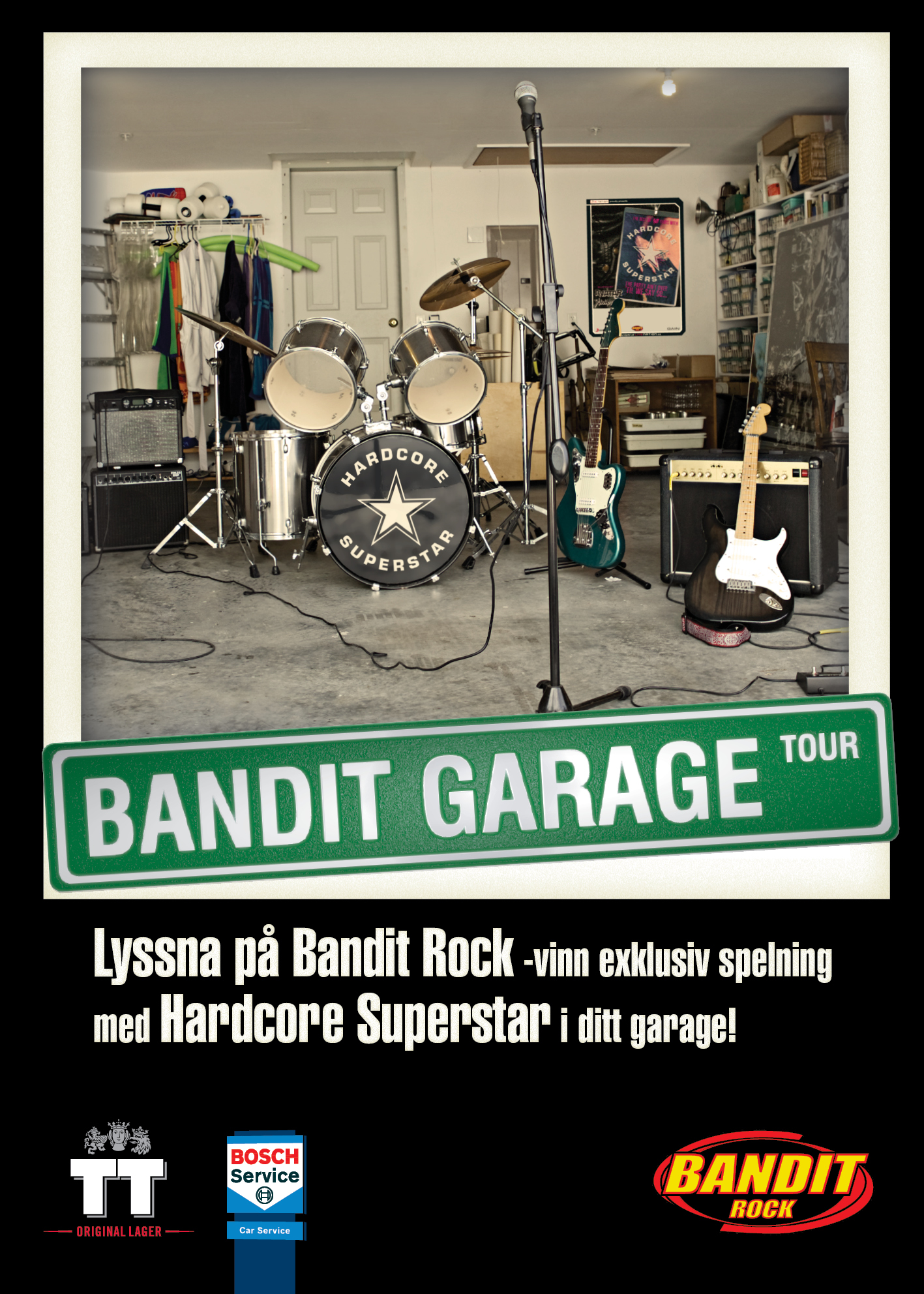 Bandit Garage Tour